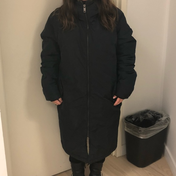 H&M Jackets & Blazers - H&M Hooded Padded Oversized Coat